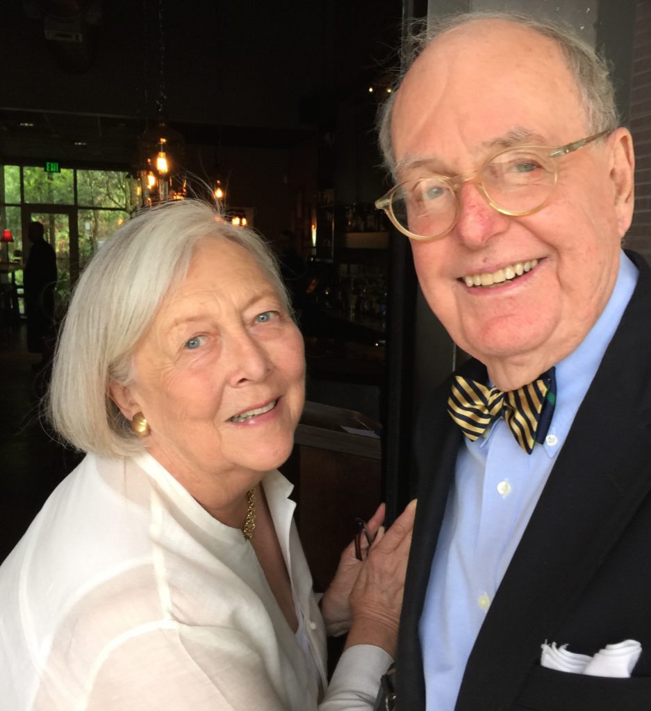 Charleston based donors, Peter and Patti McGee